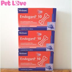 3 hộp Endogard trị giun tim, giun tròn, sán dây trên chó