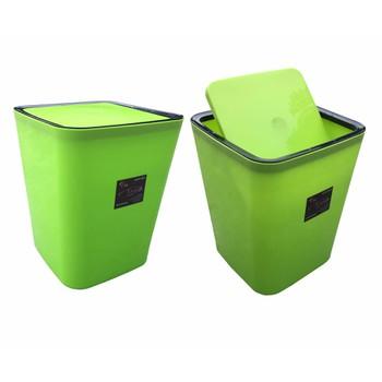 Bách Hóa Online 168 Bộ 2 Thùng Rác Gia đình Nhựa Bóng Cao Cấp Nắp