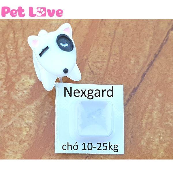 1 viên NexGard trị ghẻ, ve rận, bọ chét cho chó từ 10 - 25kg - NE874OTAA826GTVNAMZ-15445925