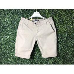 Quần shorts Kaki Hàn Quốc-QK1.2_Sp có bảo hành-Màu Trắng