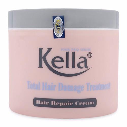 Kem hấp dầu, ủ tóc Kella phục hồi tóc hư tổn
