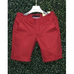 Quần shorts Kaki Hàn Quốc-QK1_Sp có bảo hành-Màu Đỏ