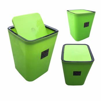 Bách Hóa Online 168 Thùng Rác Gia đình Nhựa Bóng Cao Cấp Nắp Bập