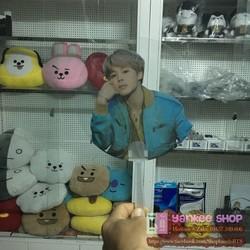 Quạt hình BTS Jimin - album Love Yourself Tear