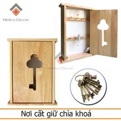 Tủ cất giữ chìa khoá tiện lợi - lấy chìa khoá - tủ gỗ treo chìa khoá