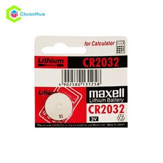 Pin Đồng Hồ Maxell CR2032 - PKA318 Pin Maxell CR2032 thumbnail