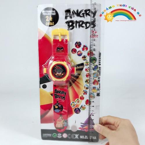 Đồ chơi trẻ em đồng hồ angrybird