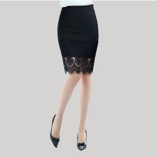 chân váy đẹp - Chân váy công sở đáp ren2 thumbnail
