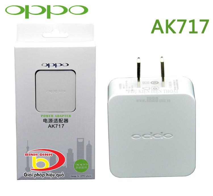 Bộ sạc Oppo AK 717 zin 4