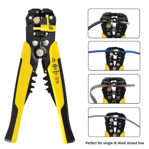 Kìm tuốt dây điện, dây cáp, bấm cos đa năng 0.2 - 6mm