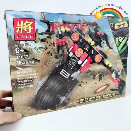 Đồ Chơi Lắp Ghép Ninja Movie Lele 31067