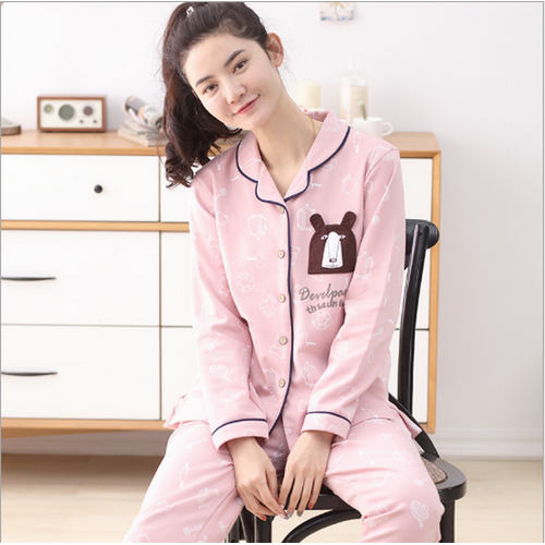 Bộ Pijama nữ dài tay