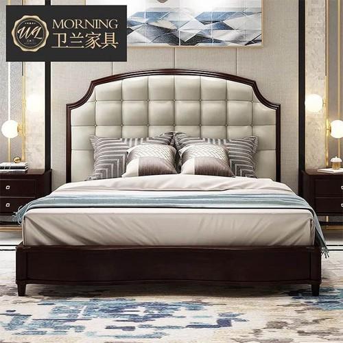 Giường ngủ gỗ ASH nhập khẩu HHP-GN106-19 cao cấp