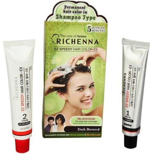 Thuốc Nhuộm tóc Richenna dạng gội 60g