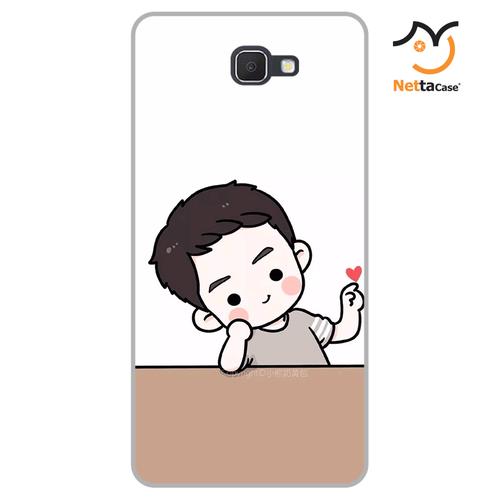 Ốp lưng điện thoại Samsung Galaxy J7 Prime - Couple Boy 03