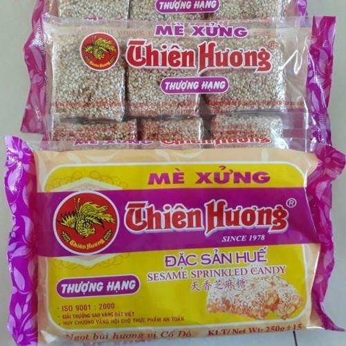 10 gói Mè Xửng Thiên Hương chính hiệu gói 250gr_ đặc sản Huế