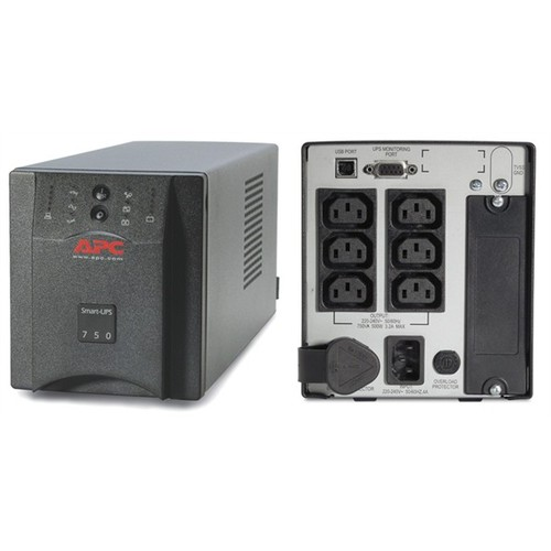 Bộ Lưu Điện UPS APC Smart UPS 750VA 500W Sin Chuẩn Chính Hãng