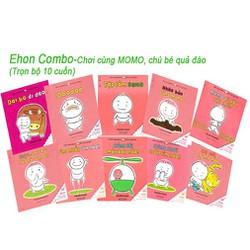 Sách - Ehon Chơi cùng Momo, chú bé quả đào Combo trọn bộ 10 cuốn