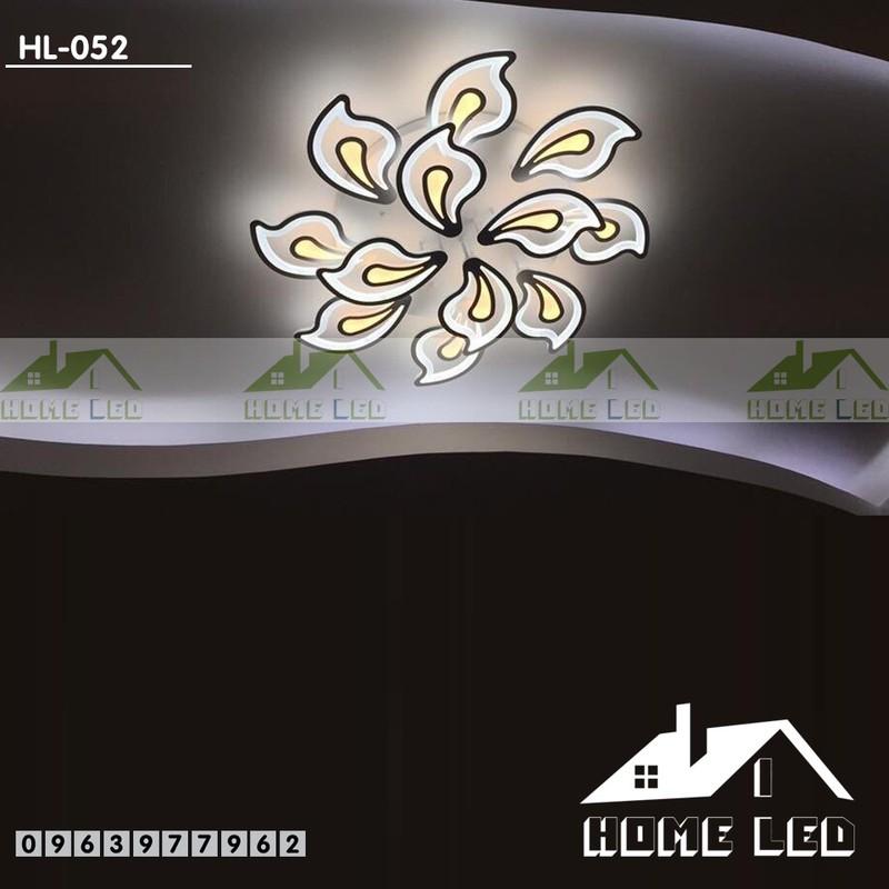 Đèn ốp trần hiện đại HL-052 + Tặng kèm bộ điều khiển hiện đại 500K 1