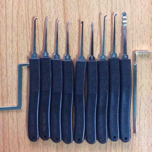 Bộ dụng cụ mở khoá 9 món SECURE PRO dành cho người tập mở khoá