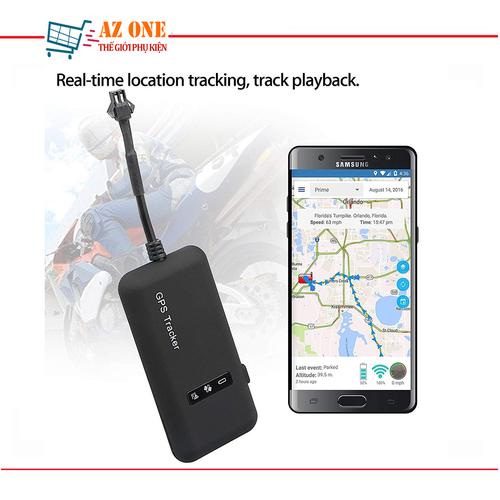 Thiết Bị Định Vị GPS Cho Ôto Xe Máy GT-02