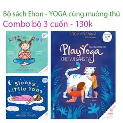 Sách - Ehon yoga cùng muông thú Combo 3 cuốn