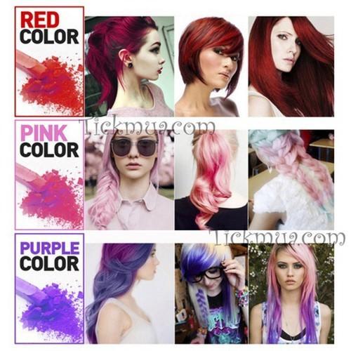 Phấn nhuộm tóc 6 màu