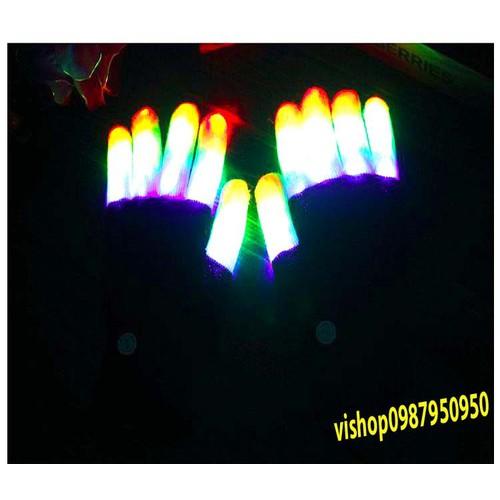 Găng tay phát sáng.găng tay ma thuật