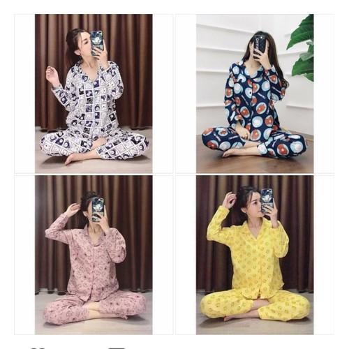 Đồ bộ pijama kate tay dài quần dài hoạt hình cao cấp S1615 - 10776600 , 11118822 , 15_11118822 , 180000 , Do-bo-pijama-kate-tay-dai-quan-dai-hoat-hinh-cao-cap-S1615-15_11118822 , sendo.vn , Đồ bộ pijama kate tay dài quần dài hoạt hình cao cấp S1615