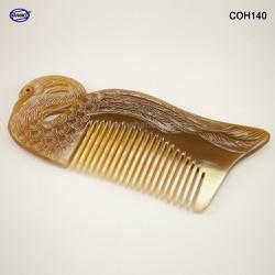 Lược sừng Thiên Nga đẹp làm quà tặng -Size: XL - 15 cm- Chăm sóc tóc - Horn Comb of HAHANCO