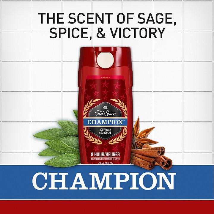 Sữa Tắm Old Spice Champion Body Wash 473ml 3