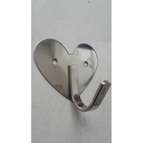 Móc áo đơn - móc treo tường - hình trái tim - 7831270 , 11130642 , 15_11130642 , 30000 , Moc-ao-don-moc-treo-tuong-hinh-trai-tim-15_11130642 , sendo.vn , Móc áo đơn - móc treo tường - hình trái tim