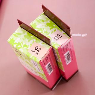 Kem nền trắng da Naris Ailus CC Cream Hàn Quốc 02 Da tự nhiên - 124 2