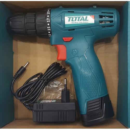 Máy khoan vặn vít dùng pin Li-ion TOTAL TDLI08120 12V - 10778308 , 11125875 , 15_11125875 , 580000 , May-khoan-van-vit-dung-pin-Li-ion-TOTAL-TDLI08120-12V-15_11125875 , sendo.vn , Máy khoan vặn vít dùng pin Li-ion TOTAL TDLI08120 12V