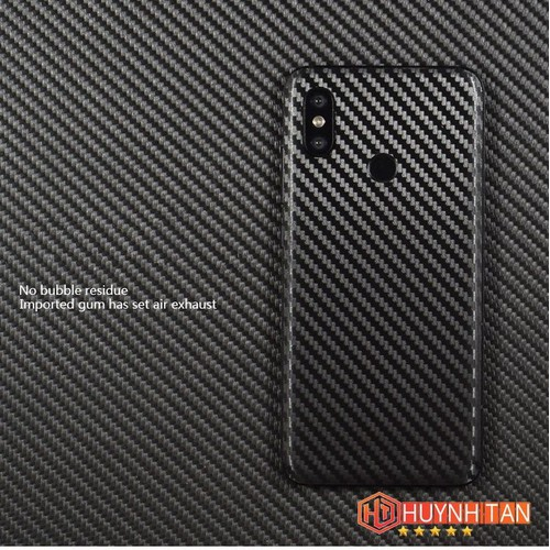Dán carbon Xiaomi Mi 8 chống trầy xướt tốt - Combo 3 Cái