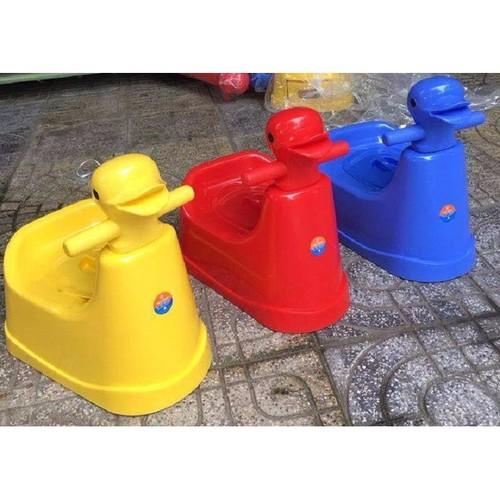 Bô vệ sinh con vịt Việt Nhật - ghế bô vệ sinh