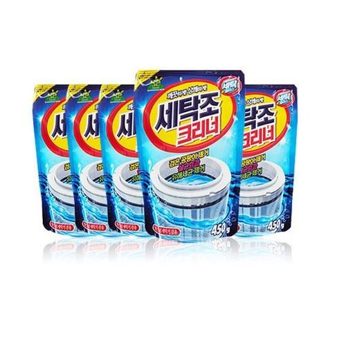 Bộ 5 gói bột tẩy lồng máy giặt Sandokkaebi Hàn Quốc 450g BH17 - 10780824 , 11135743 , 15_11135743 , 200000 , Bo-5-goi-bot-tay-long-may-giat-Sandokkaebi-Han-Quoc-450g-BH17-15_11135743 , sendo.vn , Bộ 5 gói bột tẩy lồng máy giặt Sandokkaebi Hàn Quốc 450g BH17