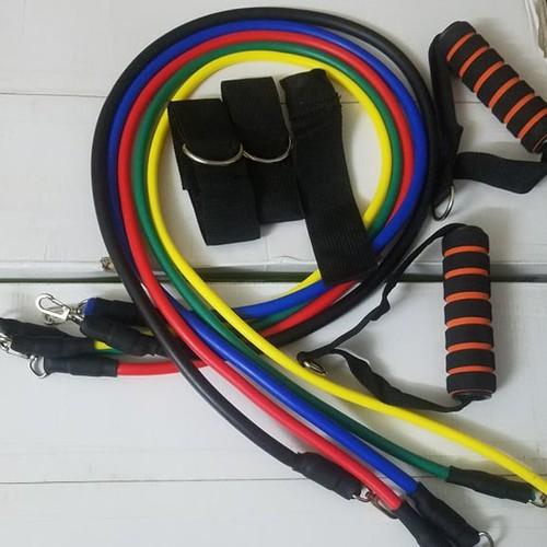Bộ tập gym 5 dây ngũ sắc - 5601699 , 12023922 , 15_12023922 , 200000 , Bo-tap-gym-5-day-ngu-sac-15_12023922 , sendo.vn , Bộ tập gym 5 dây ngũ sắc