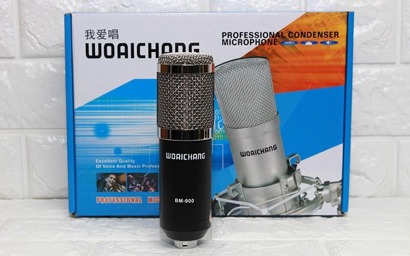 Micro thu âm BM 900 và sound card V8 Tiếng Anh - Việt dễ sử dụng 4
