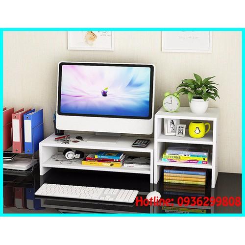 Kệ gỗ để màn hình máy tính - kệ sách - 10779054 , 11128835 , 15_11128835 , 690000 , Ke-go-de-man-hinh-may-tinh-ke-sach-15_11128835 , sendo.vn , Kệ gỗ để màn hình máy tính - kệ sách