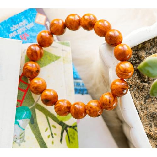 [Siêu sale] vòng phong thủy- vòng đeo tay nam gỗ huyết long 10ly - vòng phong thủy hợp mệnh thổ - hỏa - kim