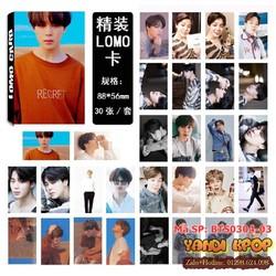 Lomo Card Jimin BTS - Album Love Yourself Tear 2018