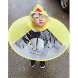 Combo 2 áo mưa con gà cho bé