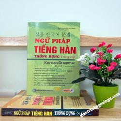 Sách Ngữ pháp tiếng hàn thông dụng trung cấp - Kèm CD hoặc tải App