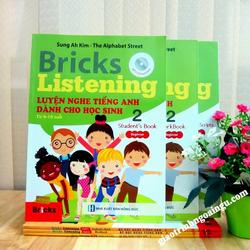 Sách Bricks Listening Luyện nghe tiếng Anh dành cho học sinh 2