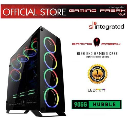Case 905G-Case Kính Cường Lực Có 4 Fan LED RGB
