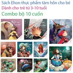 Song ngữ Ehon Cổ tích thế giới hay nhất Combo 10 cuốn