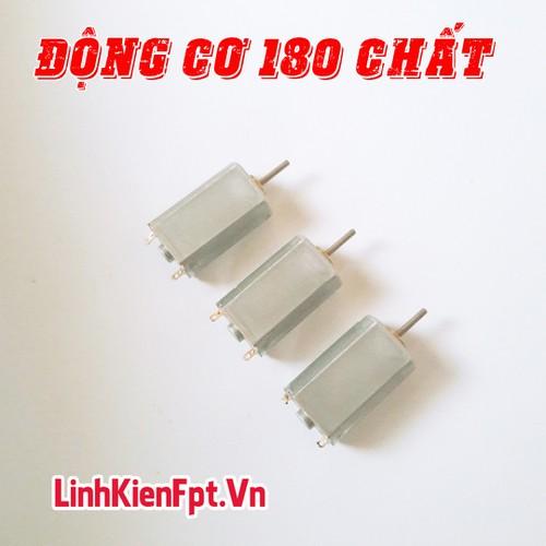 Linh kiện điện tử Động Cơ 180 , Motor 180 , 19000Rpm 3,7V - COMBO 3 Chiếc