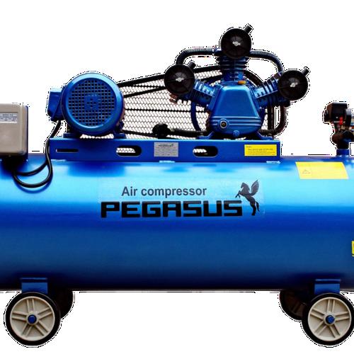 Máy nén khí Pegasus 70l dùng cho máy cắt nhôm 2 đầu, phay đố