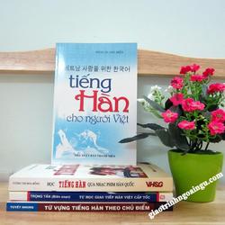 Sách Tiếng Hàn cho người Việt - Kèm CD